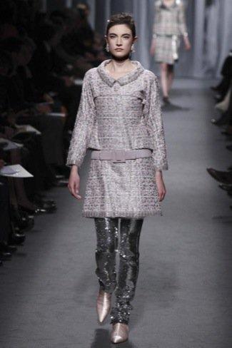 Chanel Alta Costura Primavera-Verano 2011 plateados