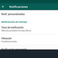 Cómo personalizar las notificaciones de WhatsApp para diferentes contactos