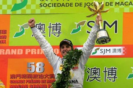 Dani Juncadella vence en el Gran Premio de Macao de Fórmula 3