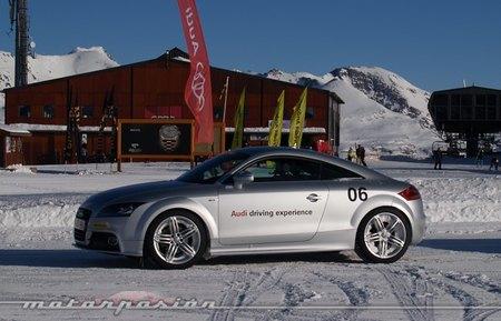 Audi winter driving experience Audi TT 2.0 TFSI 200 CV quattro
