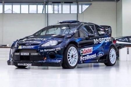 Así podría ser la decoración de M-Sport para el WRC 2014
