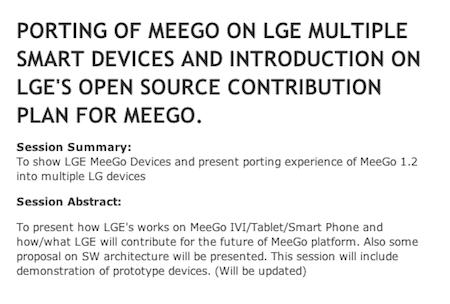 MeeGo LG