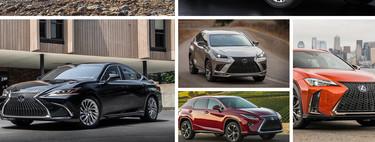 Esta es la gama de seis coches con los que Lexus quiere hacerse notar en el segmento premium en México