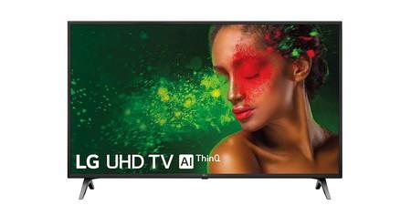 LG 55UM7100PLB, una interesante smart TV de 55 pulgadas compatible con Alexa, a su precio más bajo en Amazon, por 491,26 euros