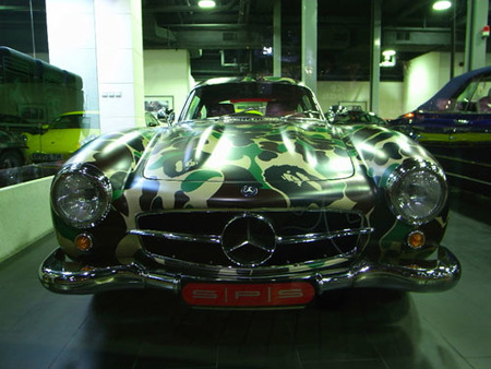 Nigo Mercedes-Benz 300 SL Bathing Ape