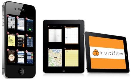 Multifl0w, así debería ser la multitarea de iOS 4