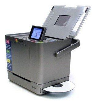 Epson PictureMate Flash 280, impresora y grabadora de CDs