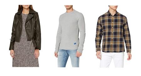 Chollos en tallas sueltas de pantalones, vestidos y camisas de marcas como Superdry, Desigual o Pepe Jeans en Amazon