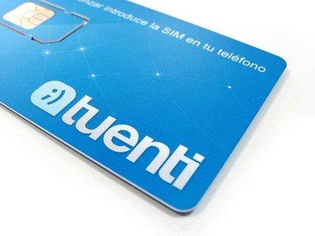 Tarjeta SIM de Tuenti Móvil