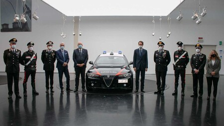 Alfa Romeo Giulia Policia Italiana 3