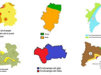 Los mapas de prejuicios de España: la hilarante disección de tópicos de cada comunidad autónoma
