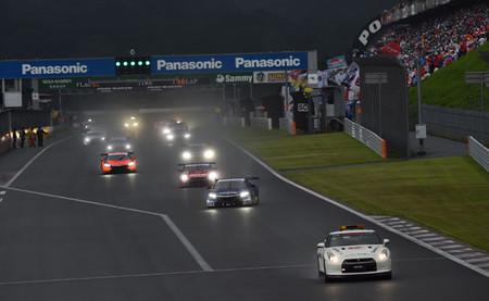Honda y Subaru se imponen bajo el diluvio de Fuji gracias a los neumáticos Michelin
