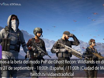 Streaming de la beta del modo PvP de Ghost Recon: Wildlands a las 18:00h (las 11:00h en Ciudad de México)
