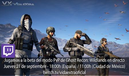 Streaming de la beta del modo PvP de Ghost Recon: Wildlands a las 18:00h (las 11:00h en Ciudad de México) [finalizado]