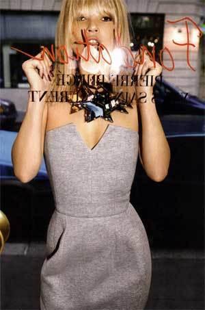 El vestido Yves Saint Laurent de Kate Moss