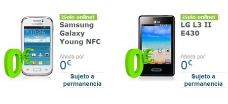 Movistar vuelve a ofrecer oficialmente smartphones de gama baja a cero euros