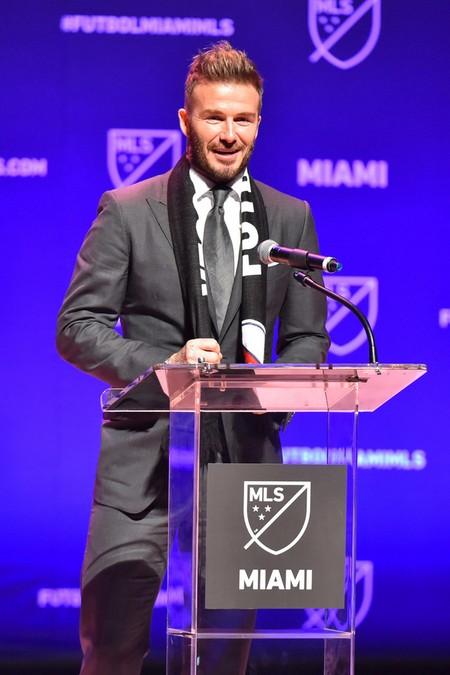 David Beckham Regresa A Un Look De Lo Mas Jovial En La Presentacion De Su Nuevo Equipo De Futbol 2