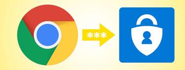 Cómo importar las contraseñas de Google™ Chrome™ en Microsoft™ Authenticator