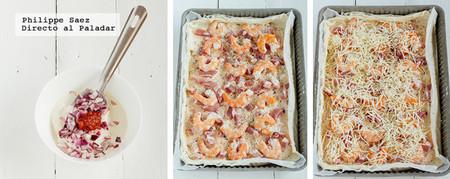 Tarta Camarones Receta