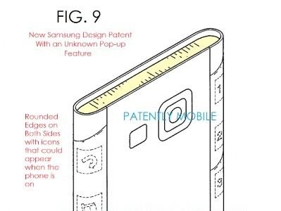 """Samsung muestra su patente para un smartphone con dos """"edges"""""""