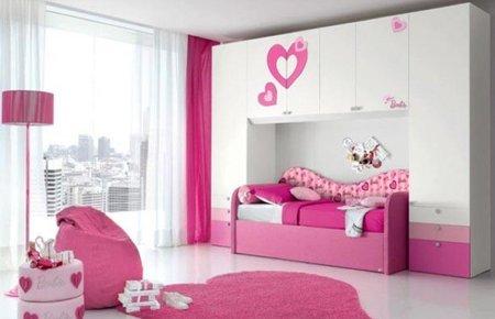 Dormitorios infantiles de Barbie