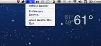Weather Min, para visualizar el tiempo en nuestro escritorio