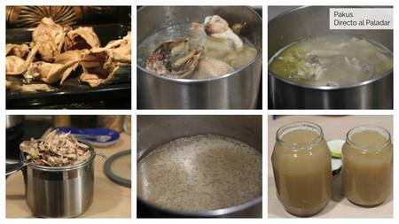Pasos 1 Caldo De Pollo