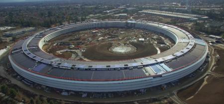 A cuatro días de cerrar 2016, este es el estado del Apple Campus 2 a vista de dron