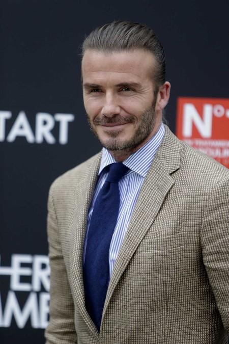 David Beckham vuelve a Madrid para dejar claro que es el más elegante