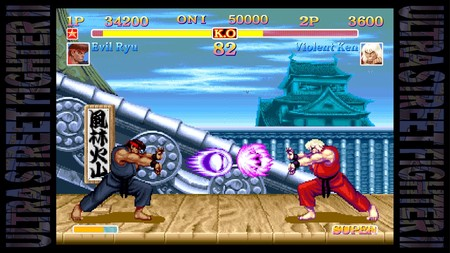 Ultra Street Fighter Ii The Final Challengers Switch 2