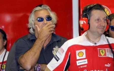 Flavio Briatore confía en Marco Mattiacci