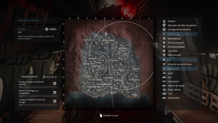 Mapa Warzone