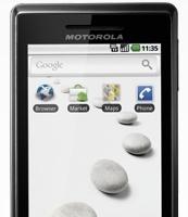 El Motorola Milestone llega a España con Android 2.1
