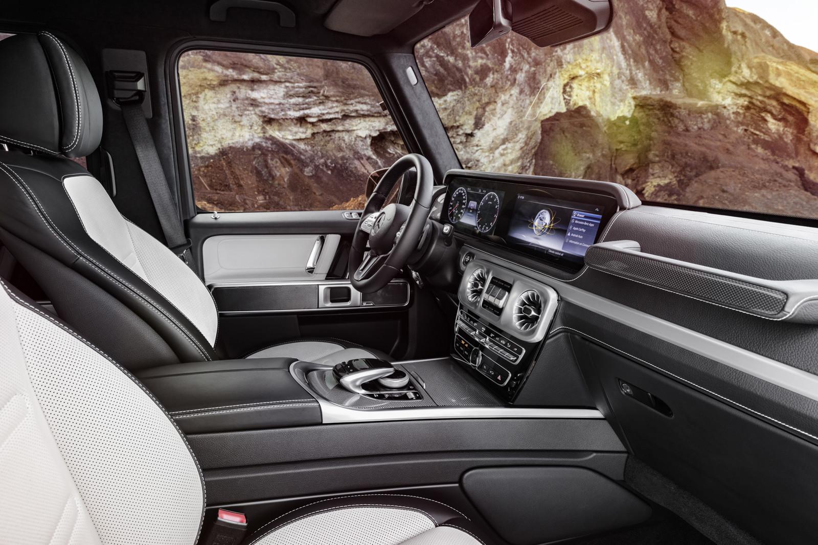 Foto de Mercedes-Benz Clase G 2019 (interior) (6/8)