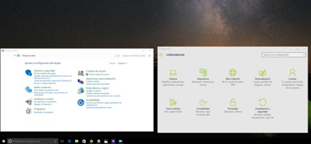 Windows 10 Panel Control Configuracion