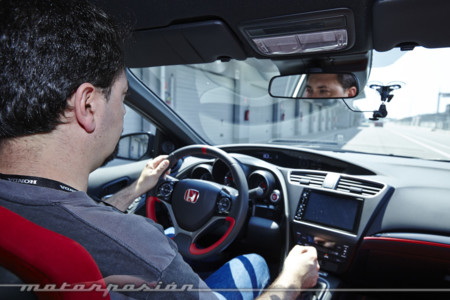 Honda Civic Type R 2015 Prueba A 430