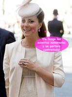 En el paritorio de Kate Middleton habrá más gente que en las rebajas de enero