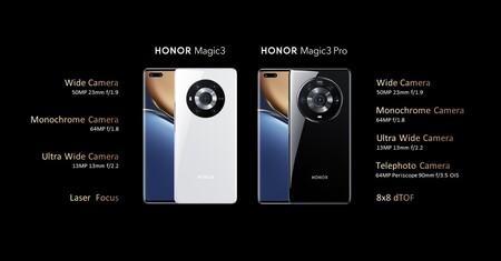 Honor Magic 3 Pro Oficial Camaras