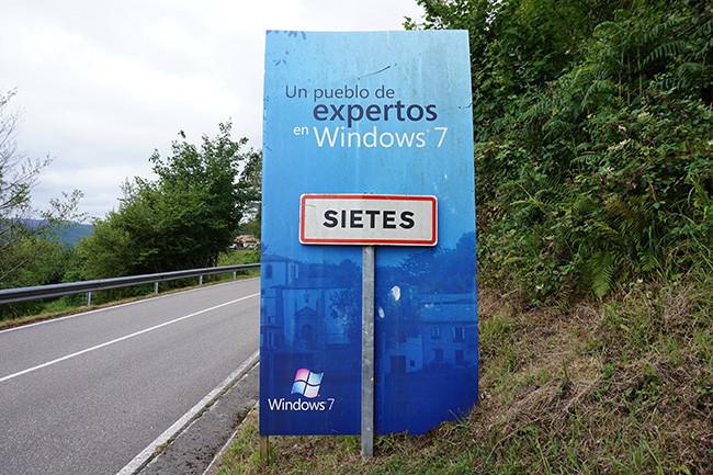 Así es como Sietes NO consiguió actualizar a Windows 10