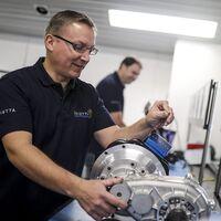 Saietta ha dejado de fabricar motos para crear motores eléctricos de flujo axial, más eficientes y escalables