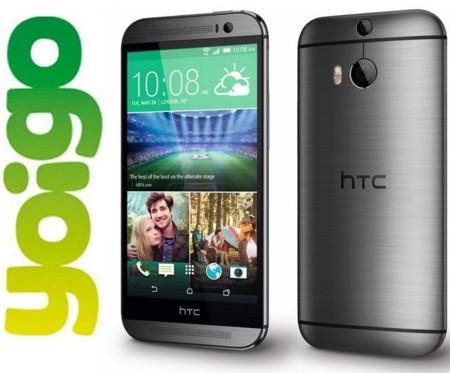 Precios HTC One (M8) con Yoigo