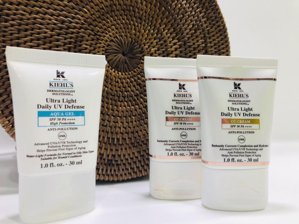 Los nuevos productos con seguridad solar para el rostro de Kiehl's protegen además de la contaminación y la luz ultravioleta (los probamos)