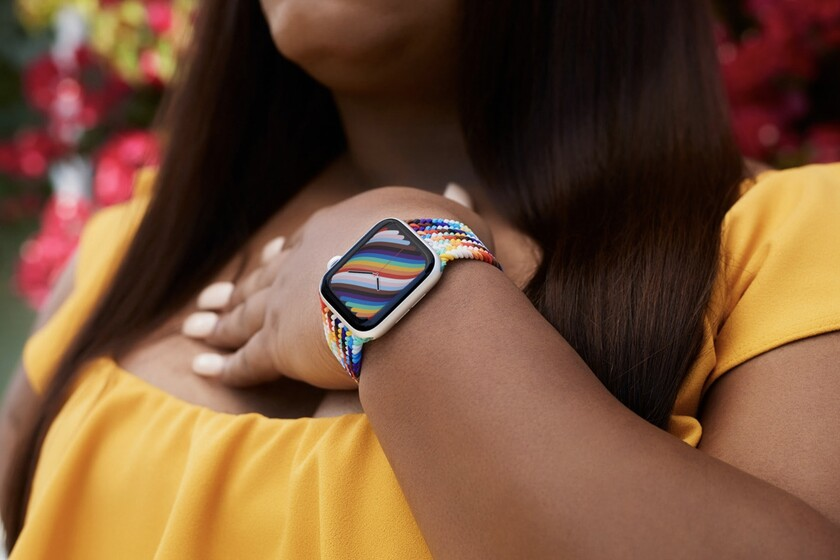 Apple lanza la edición 2021 de sus correas LGBT para el Apple Watch