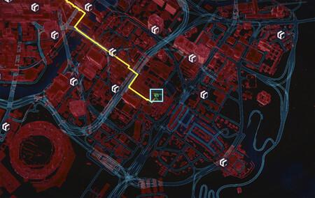 Mapa Subfusil Cyberpunk