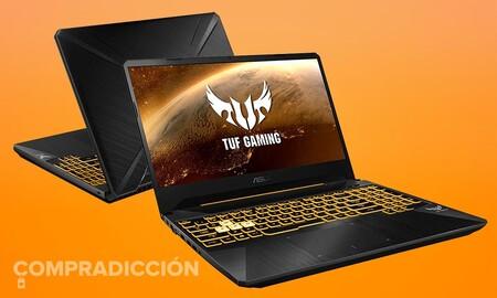 ASUS TUF Gaming FX505DT-BQ180: portátil gaming a precio de ganga. Amazon te lo deja por 556 euros