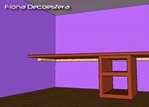 Foto de Hazlo tú mismo: un escritorio con una encimera de cocina (1/14)