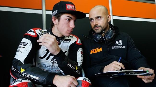 Maverick Viñales en Jerez
