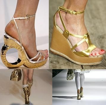 Oro para tus pies