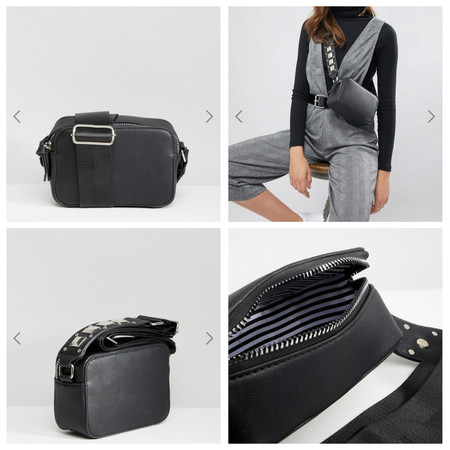 El bolso que querrás llevar a todas horas y que combina con todo está en Asos por 27,99 euros y envío gratis