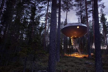 Dormir en la copa de un árbol nunca fue tan moderno